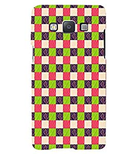 PrintVisa Corporate Print & Pattern Square 3D Hard Polycarbonate Designer Back Case Cover for Samsung Galaxy A3