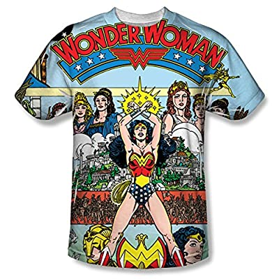Wonderwoman Number 1 Cover All Over Front T-Shirt