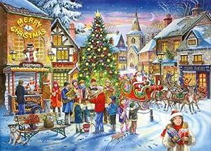 2011 Xmas Edition No.6 500 Piece Jigsaw Puzzle CHRISTMAS SHOPPING