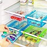 Celebration BPA Free, ABS Plastic,ODOR Less Kitchen Refrigerator Fridge Storage Drawer Rack With LId Freezer Shelf...