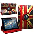 DN-TECHNOLOGY� RETRO VINTAGE UNION JACK NEW HIGH QUALITY PROTECTIVE CASE COVER FOR APPLE IPAD MINI With Free Screen Protector