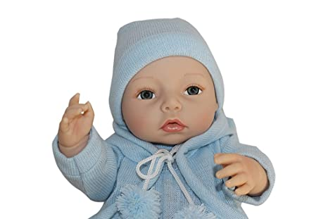 "Terabithia 16"" Cute Realistic Silicone Vinyl Full Body Reborn bébé Poupées"