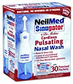 Amazon.com: NeilMed Sinugator Cordless Pulsating Nasal Wash: Health & Personal Care
