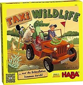 HABA Taxi Game Wildlife
