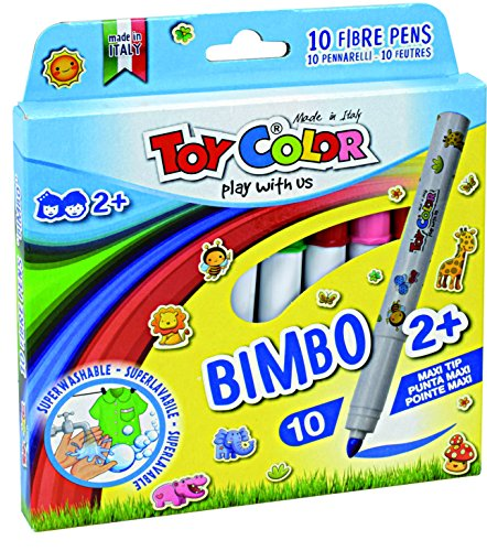 bimbo-color-lot-de-10-feutres-