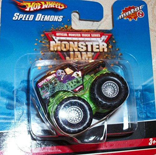 Hot Wheels Monster Jam GRAVE DIGGER Speed Demons Collectible Truck
