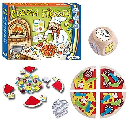 Beleduc - 22705 - Jeu De Société Éducatif - Pizza Fiesta