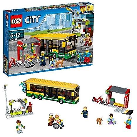 LEGO - 60154 - City - Jeu de Construction - La gare routière