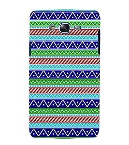 printtech Abstract Designer Pattern Back Case Cover for Samsung Galaxy E5 / Samsung Galaxy E5 E500F