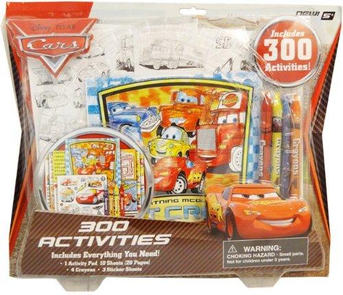 Disney Pixar Cars 300 Activities Coloring & Sticker Set - 1