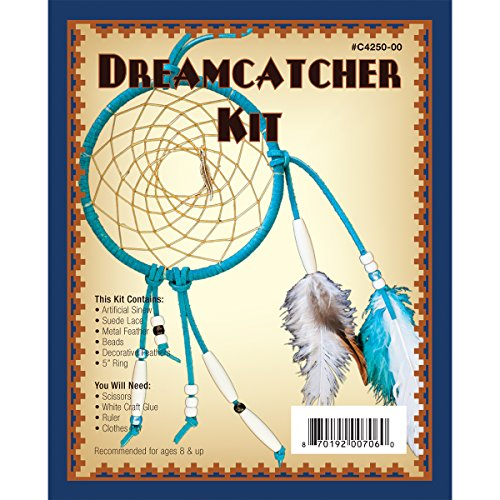 Realeather Crafts Dreamcatcher Kit, 5-Inch