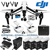 DJI Inspire 1 Dual Remote DREAM COMBO includes DJI Charging Hub, 4X TB48 battery and 180W Rapid Charger Inspire 1 Drone Quad Copter Quadcopter with 4K camera, gimbal, carrying case