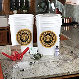 Essential Home Beer Brewing Starter Kit w/ Caribou Slobber Brown Ale Recipe Kit