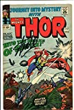 Stan Lee Signed / Autographed Journey Into Mystery 123 1965 Original Comic. Hercules. First appearance of The Demon. Includes Fanexpo Certificate of Authenticity and Proof of signing. Entertainment Autograph Original. The Mighty Thor Odin Son