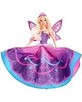 Barbie - Y6373 - Poupée - Princesse aux Ailes de Cristal