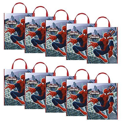 Spiderman Tote Bag (Set Of 10)