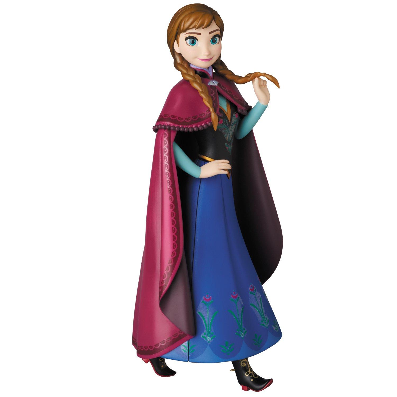 VCD アナと雪の女王 アナ ノンスケール PVC製 塗装済み 完成品 フィギュア [メディコム・トイ]