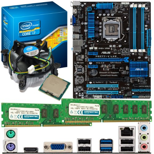 INTEL Core i7 3770K 3.5Ghz, ASUS P8Z77-V LX2 & 16GB 1600Mhz DDR3 RAM Bundle