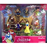 Disney Parks Snow White Figurine Playset Play Set Cake Topper NEW 2013