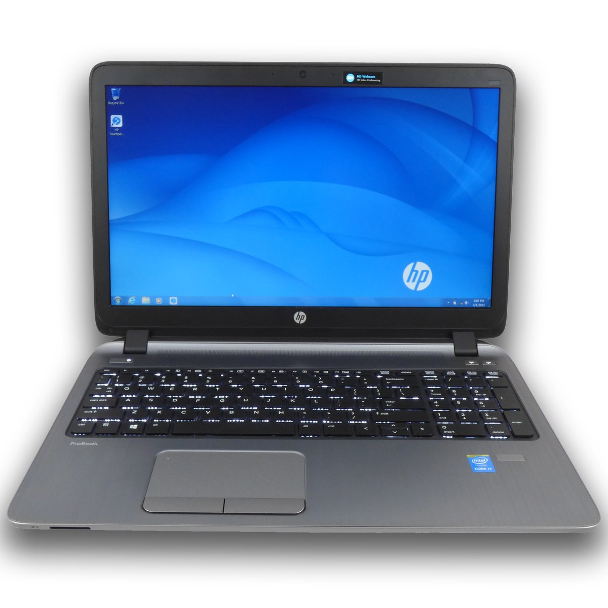 HP ProBook 450 G2 L8E01UT Business Laptop Bundle