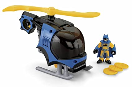 Batman - M5651 - Figurine - Véhicule Batman Imaginext - Bat Copter