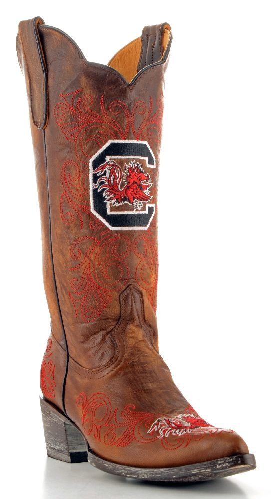 Gameday Women's University Of South Carolina Cowgirl Boot Pointed Toe
