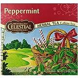 Celestial Seasonings Peppermint Tea, 40 Count (Pack of 6)