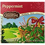 Celestial Seasonings Herb Tea, Peppermint, 40-Count Tea Bags (Pack of 6) ~ Celestial Seasonings