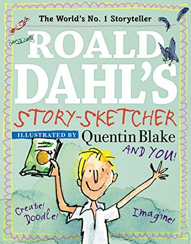 Roald dahl s story sketcher create doodle imagine for Roald dahl book review template
