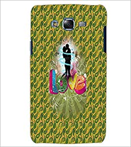 PrintDhaba Love D-3551 Back Case Cover for SAMSUNG GALAXY J5 (Multi-Coloured)