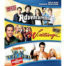 Classic Comedy Triple Feature [Blu-ray]
