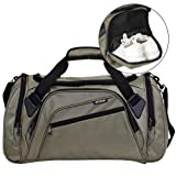 SIYUAN Gym Bag Pockets Large Duffel Bags for Men Sports Duffel Bag Athletic Gym Bag with Shoe Compartment,Military Green,Large (Color: C# Military Green, Tamaño: Large)