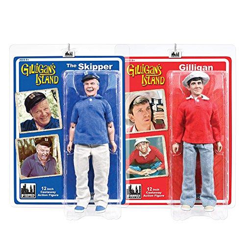 Gilligan's Island 12 Inch Action Figures Series One: Set of 2 Figures