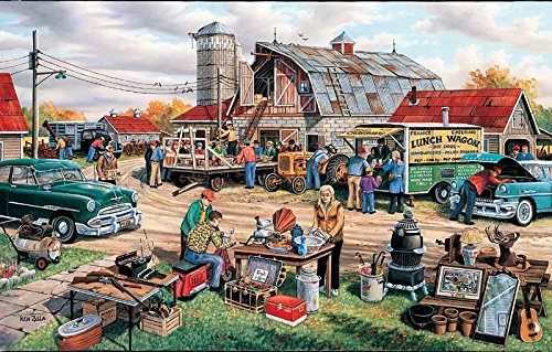 Country Auction jigsaw puzzle