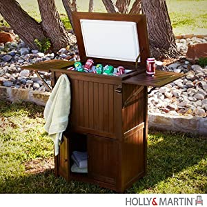 Buy Holly & Martin Parsons Ice Box Cooler in Dark Brown by Holly & Martin