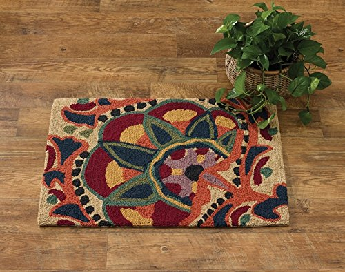 Park Designs Jewels Hooked Rug, 24 x 36
