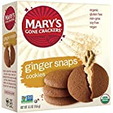 Mary's Gone Crackers Ginger Snaps Love Cookies, 5.5 oz (Pack of 6)