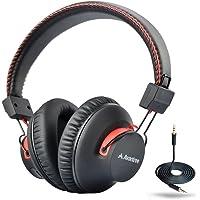 Avantree Over-Ear Wireless/Wired Bluetooth Headphones (Black/Red)