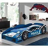Autobett im Polizei Design von Pharao24
