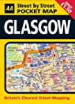 Aa Street by Street Pocket Map Glasgow