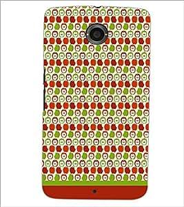PrintDhaba Pattern D-1893 Back Case Cover for MOTOROLA GOOGLE NEXUS 6 (Multi-Coloured)