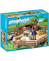 Playmobil - 5122 - Jeu de construction - Enclos et éleveur de cochons