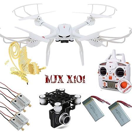 ilov MJX X1012.4G 6Axes Gyro de 4CH Flips 3D Roues RC Quadcopter Drone à 360° avec Headless Mode One Key Return avec papillon Marque-page