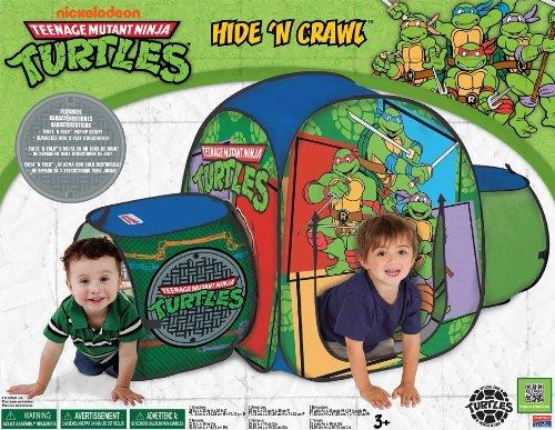 Playhut Teenage Hide 'N Crawl Mutant Ninja Turtles Tent Toy, Kids, Play, Children front-752987