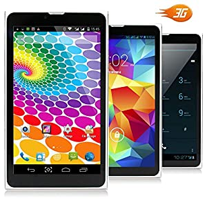 Indigi® Ultra-Slim Phablet 3G SmartPhone WiFi Android 7in Tablet PC Bluetooth UNLOCKED!