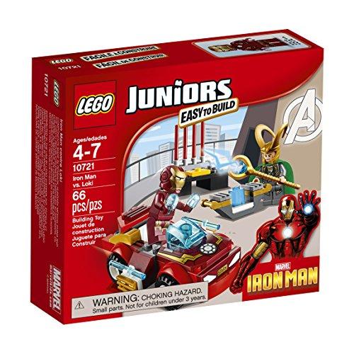 LEGO Juniors Iron Man vs. Loki 10721 (Lego Marvels compare prices)