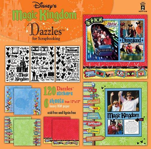 Hot Off The Press - Disney's Magic Kingdom Dazzles for Scrapbooking
