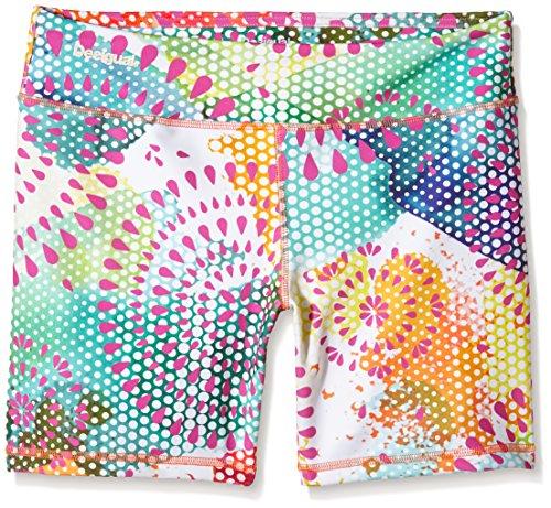Desigual 61K2SC0 - Leggings corti da donna, Donna, Leggings cd Short Tights T P, Naranja Fresh, XL