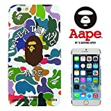 A BATHING APE 【 A BATHING APE 】 iPhone6(4.7inch)対応ケース ベイシングエイプ APE001