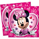 Amscan Disney Minnie Mouse Lunch Napkins